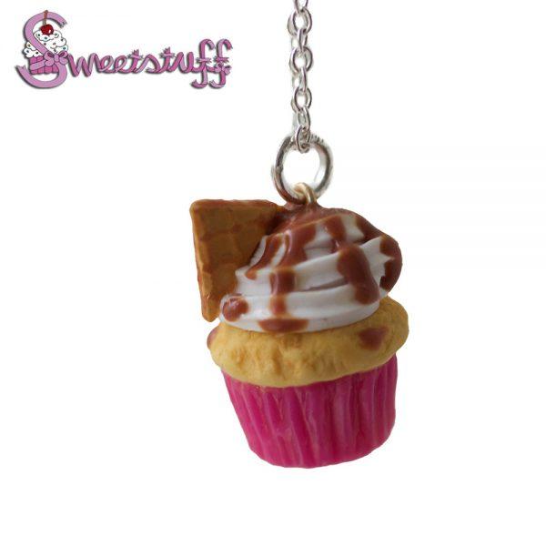 stroopwafel cupcake ketting