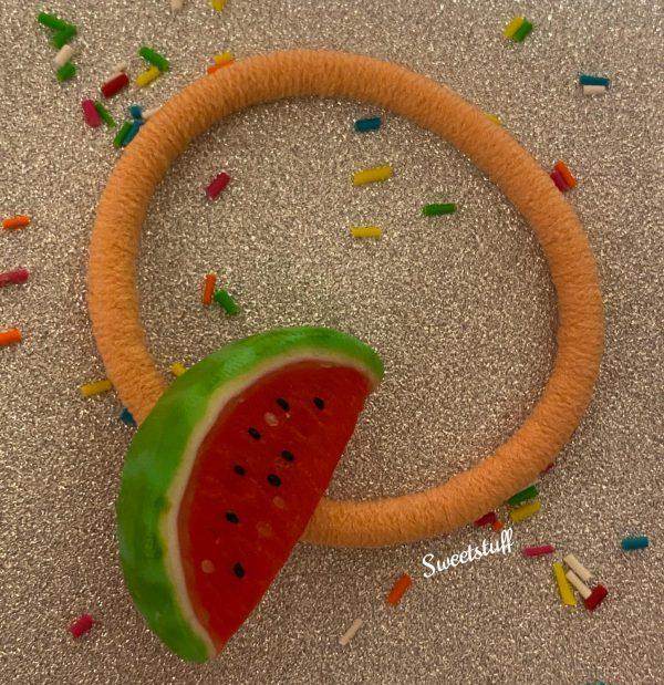 haarelastiek watermeloen